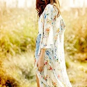 New Floral Beach Cover up